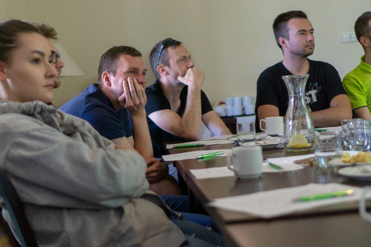 Zdjęcie zespołu inProjects z warsztarów FRIS