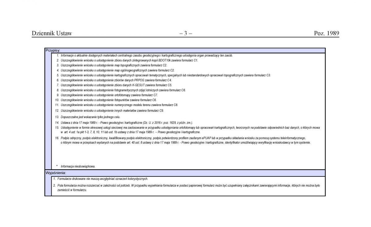 Nowy wzór wniosku do PZGiK - strona 2