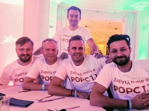 Zespół inProjects na KIKE 2018
